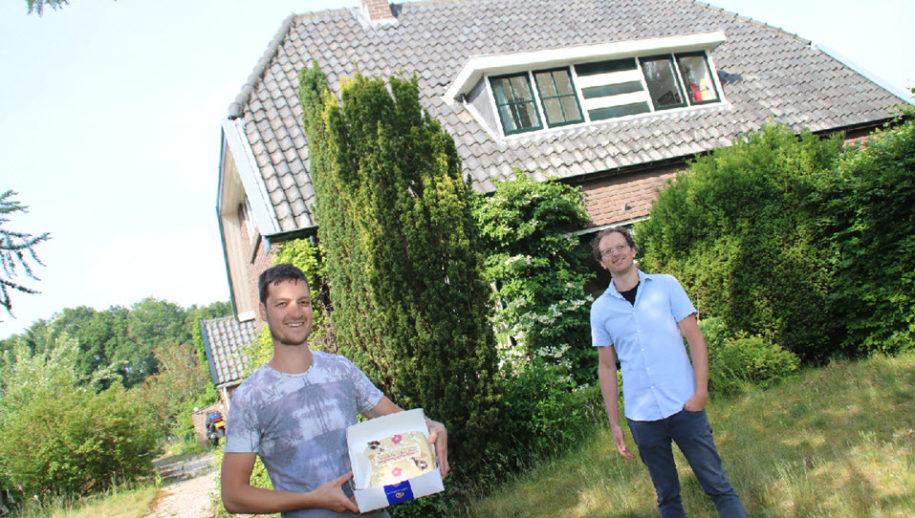 Pieter Bos en Bertho Verhoef.