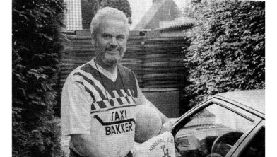 Sietse Knossen, destijds  KC Ermelo-bestuurslid.