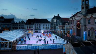 Dit jaar ook geen ijsbaan in hartje Harderwijk.