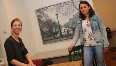 Nettie Holdermans-Janssen en Joëllen Jagersma van Bij de Les.