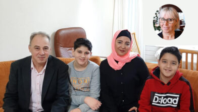 De familie Matouk, inzetje: Janine Kriger.