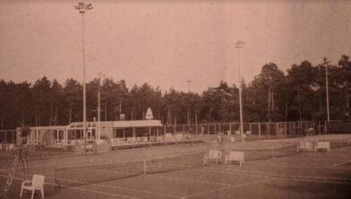Het tennispark van Irminloo in Ermelo-Oost.