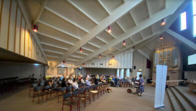 De Algemene Ledenvergadering van het CDA Ermelo.