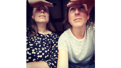 Marieke en Elise Walinga.