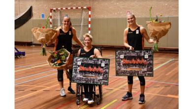 Xena Wimmenhoeve, Cher Korver en Julia van der Sprong.