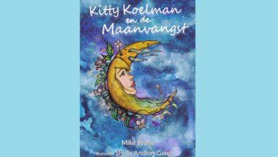 Voorkant boek 'Kitty Koelman en de Maanvangst'.