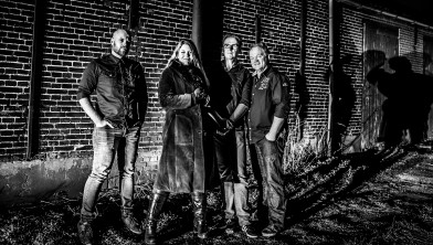 Sander, Sarah, Hans en Leon