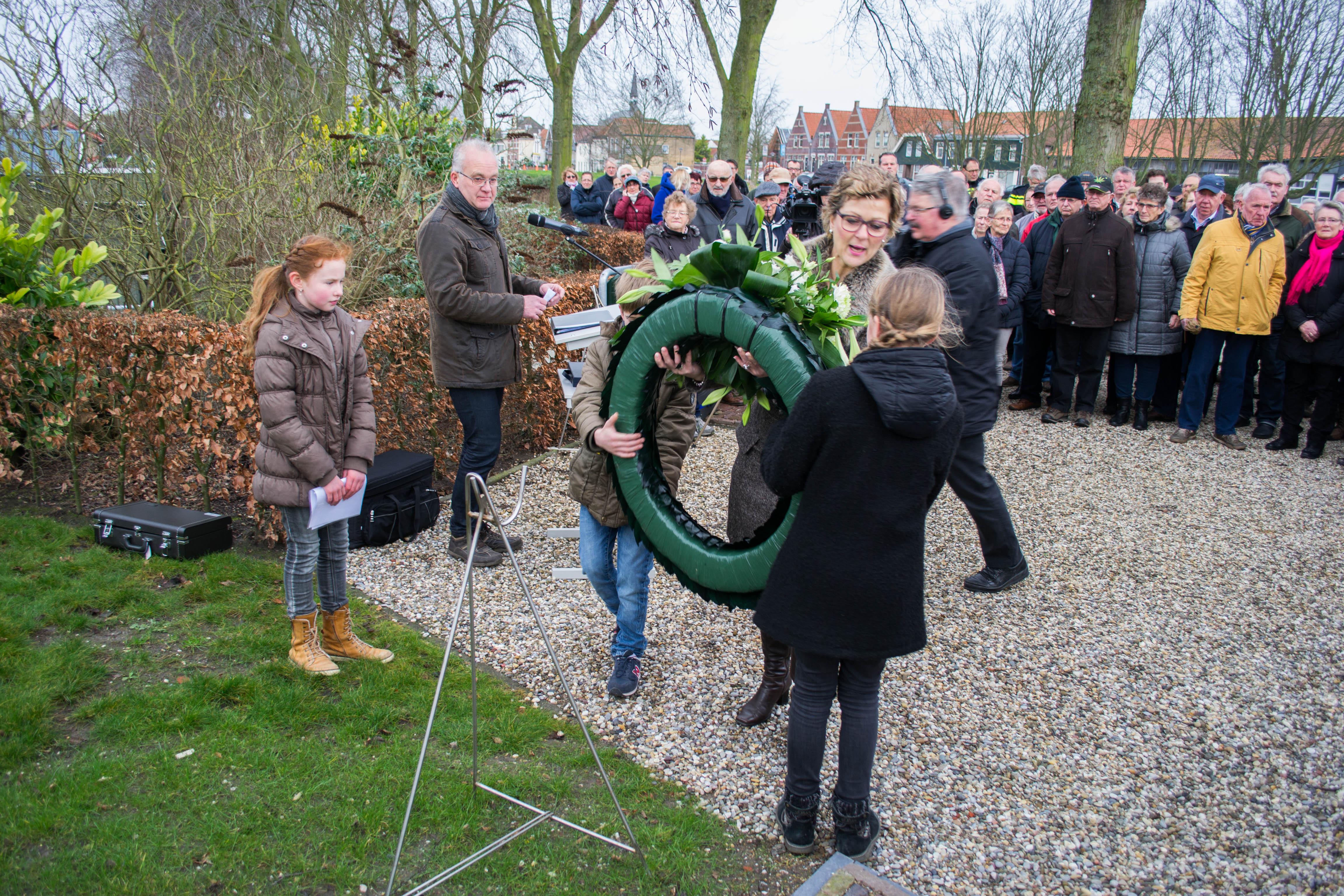 Herdenkingsdienst Watersnoodramp Oude-Tonge -4