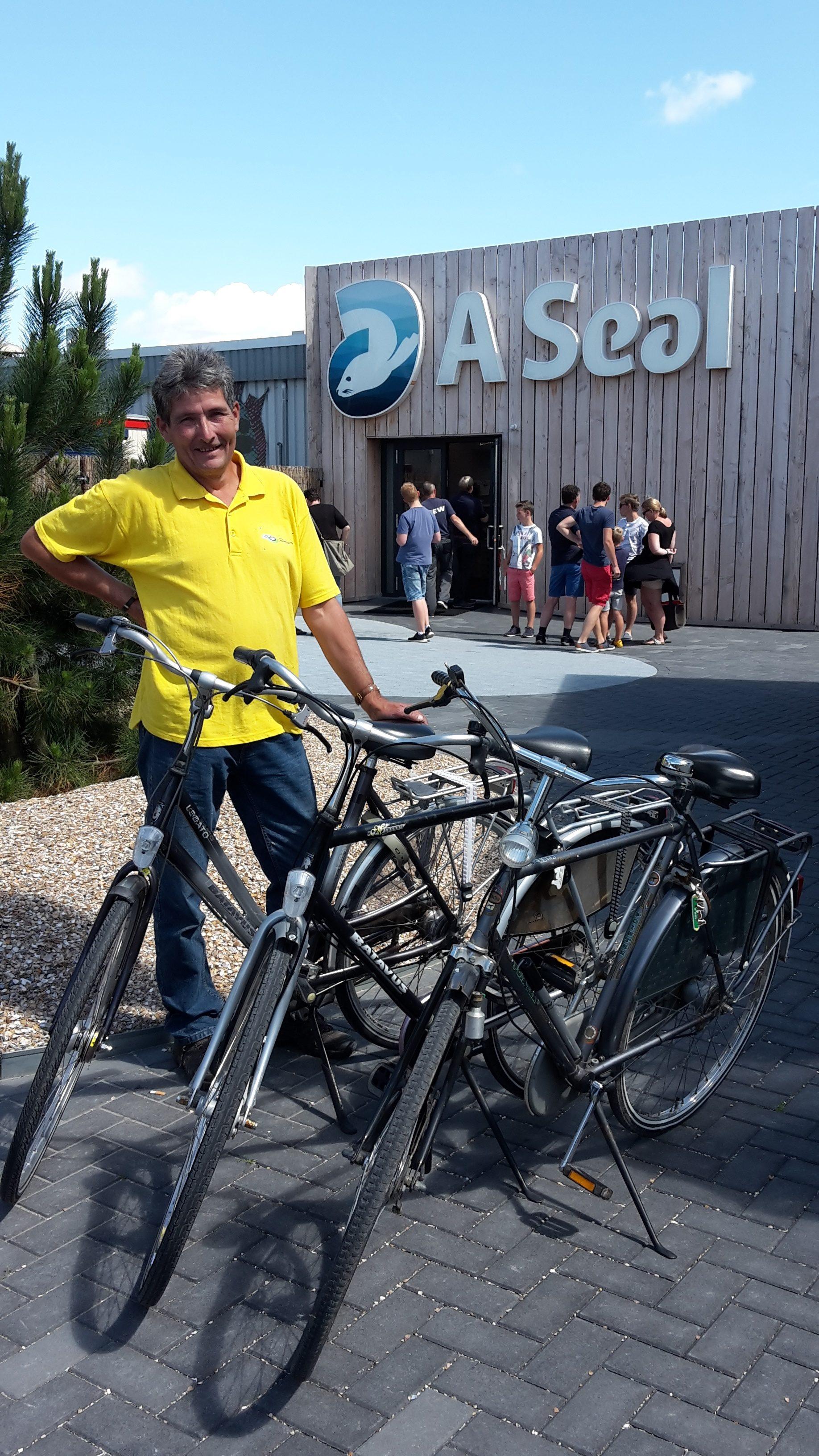 Samenwerking gemeente A Seal en De Bever fietsverhuur