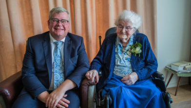 Antje Koese Viert 100ste Verjaardag Goeree Overflakkee