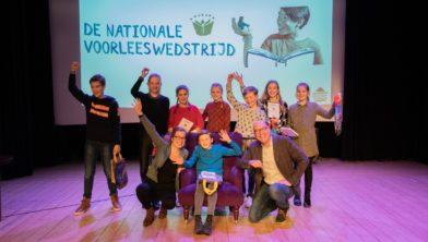 Alle finalisten en de jury bij elkaar.  Foto: Sam Fish