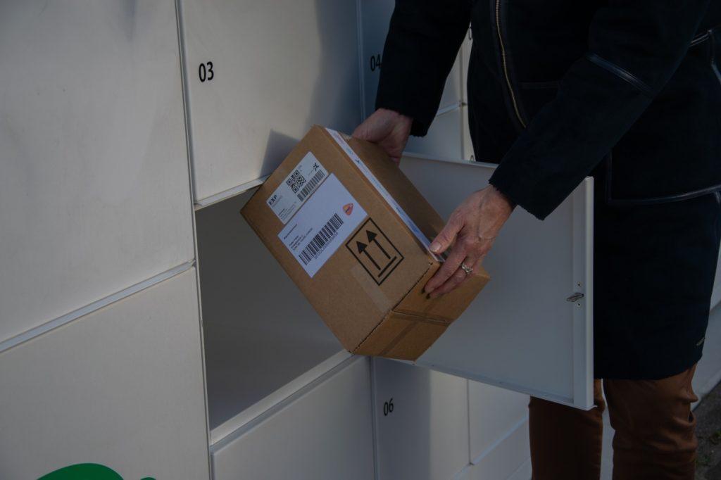 Pakketkluizen geopend in Ooltgensplaat pakket