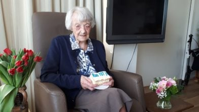 Mevrouw Ras vierde op 17 maart haar 107de verjaardag.
