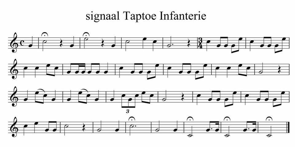 signaal Taptoe Infanterie