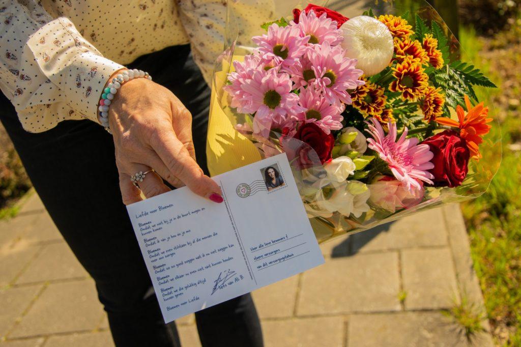 Thuiszorg krijgt bloemetje van de gemeente