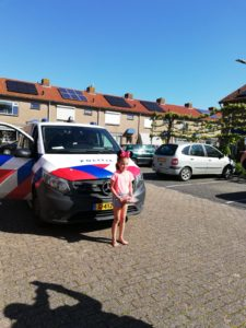 Lizzy politie verjaardagsverrassing