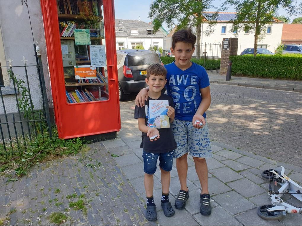 Zwerfboek Den Bommel gevonden