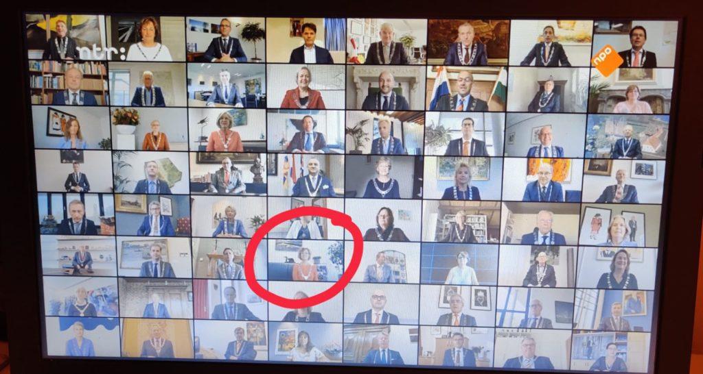 Burgemeester Ada Grootenboer Dubbelman Sinterkaas Journaal