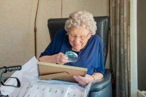 Mevrouw Van der Valk 101 jaar
