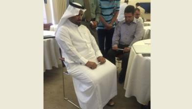 Eerste onderzoeken met de MyDiagnostick in Saudie Arabië