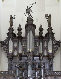Der AA Kerk.  Schnitgerorgel, foto Omke Oudeman