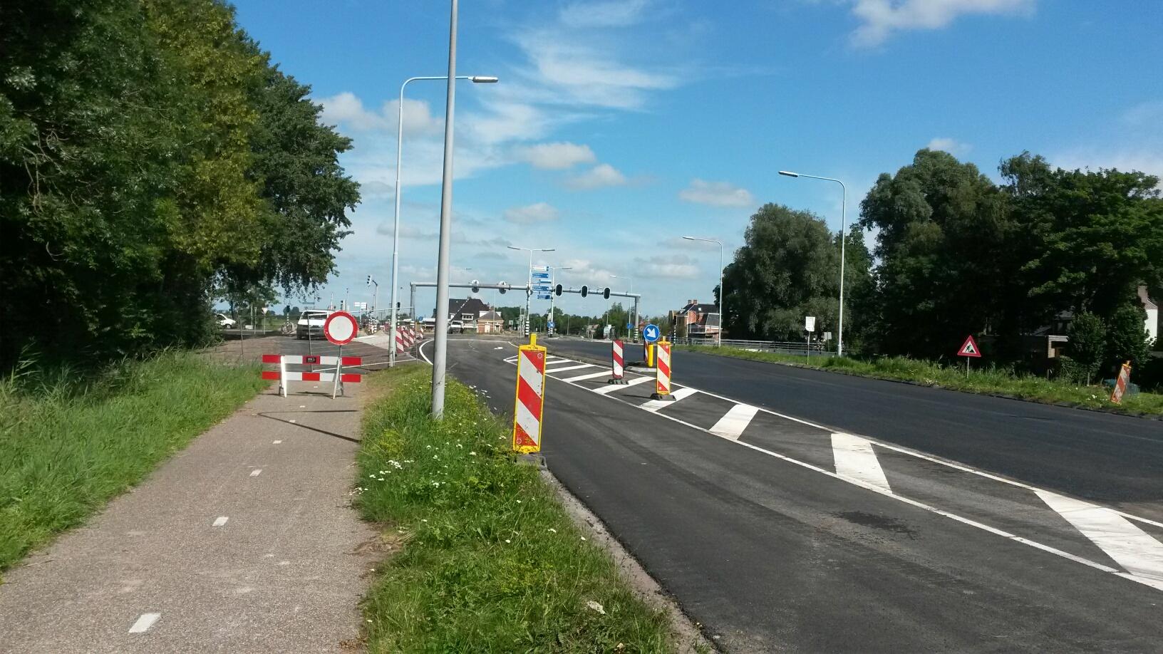 Wegwerkzaamheden N360 Ruischerwaard – Ruischerbrug schieten mooi op - Nieuws.nl