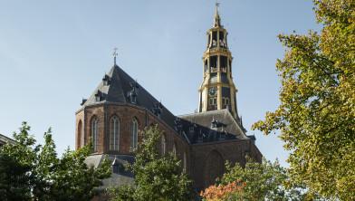 GRONINGEN / 2-10-2013 / Exterieur Der Aa kerk aan de Vismarkt.    / Foto: Omke Oudeman