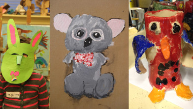 VRIJDAG kinderworkshop dierenkunst