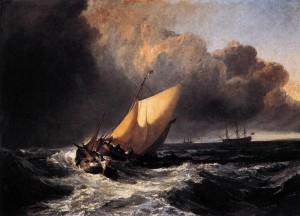 William Turner Dutch Boats In A Gale/ Bijzondere Locaties Groningen