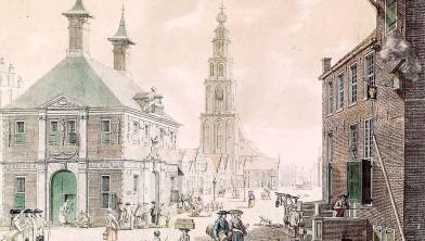 Grote Markt in Groningen 1782