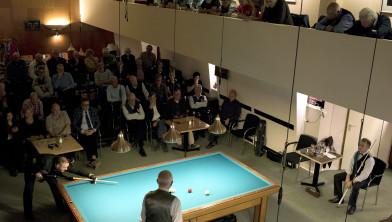 Wereldkampioen Fréderic Caudron in actie in Sociëteit de Harmonie