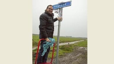 Wethouder Paul de Rook opent nieuw fietspad