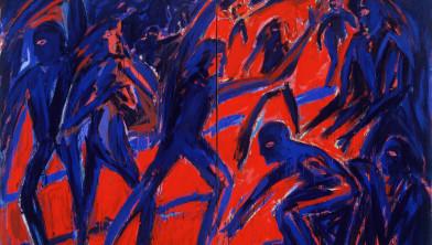'Electric Night' van Helmut Middendorf