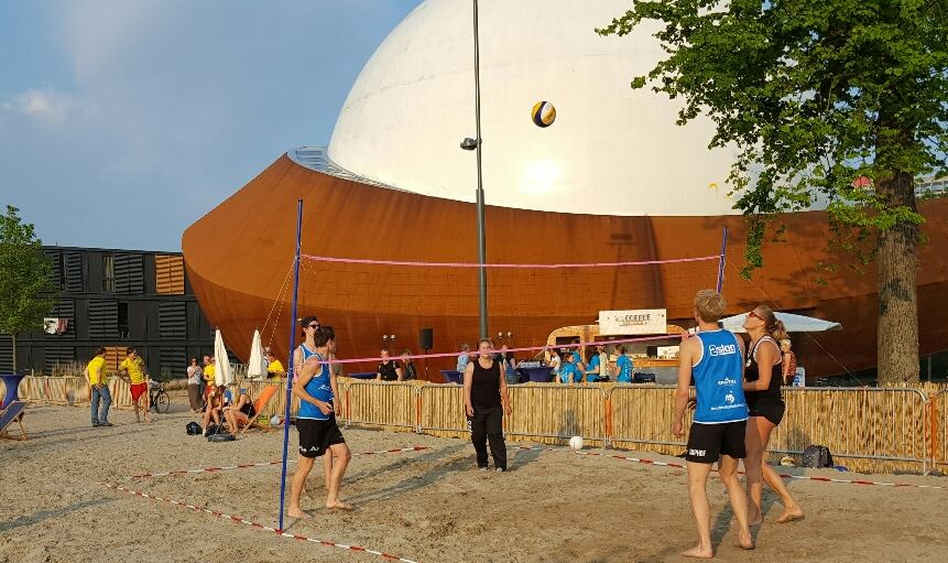 volley bal sport en spelactiviteit