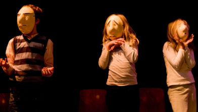 Weekendworkshop Maskertheater voor ouder en kind.