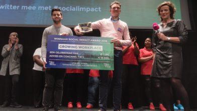 Winnaar Social Impact Award 2016