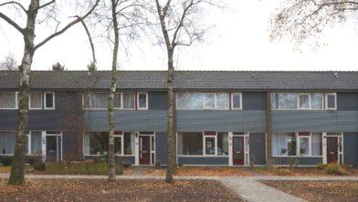 Rijtjeshuis in Emmen.
