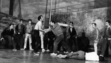 'The Rumble from West Side Story-1957.