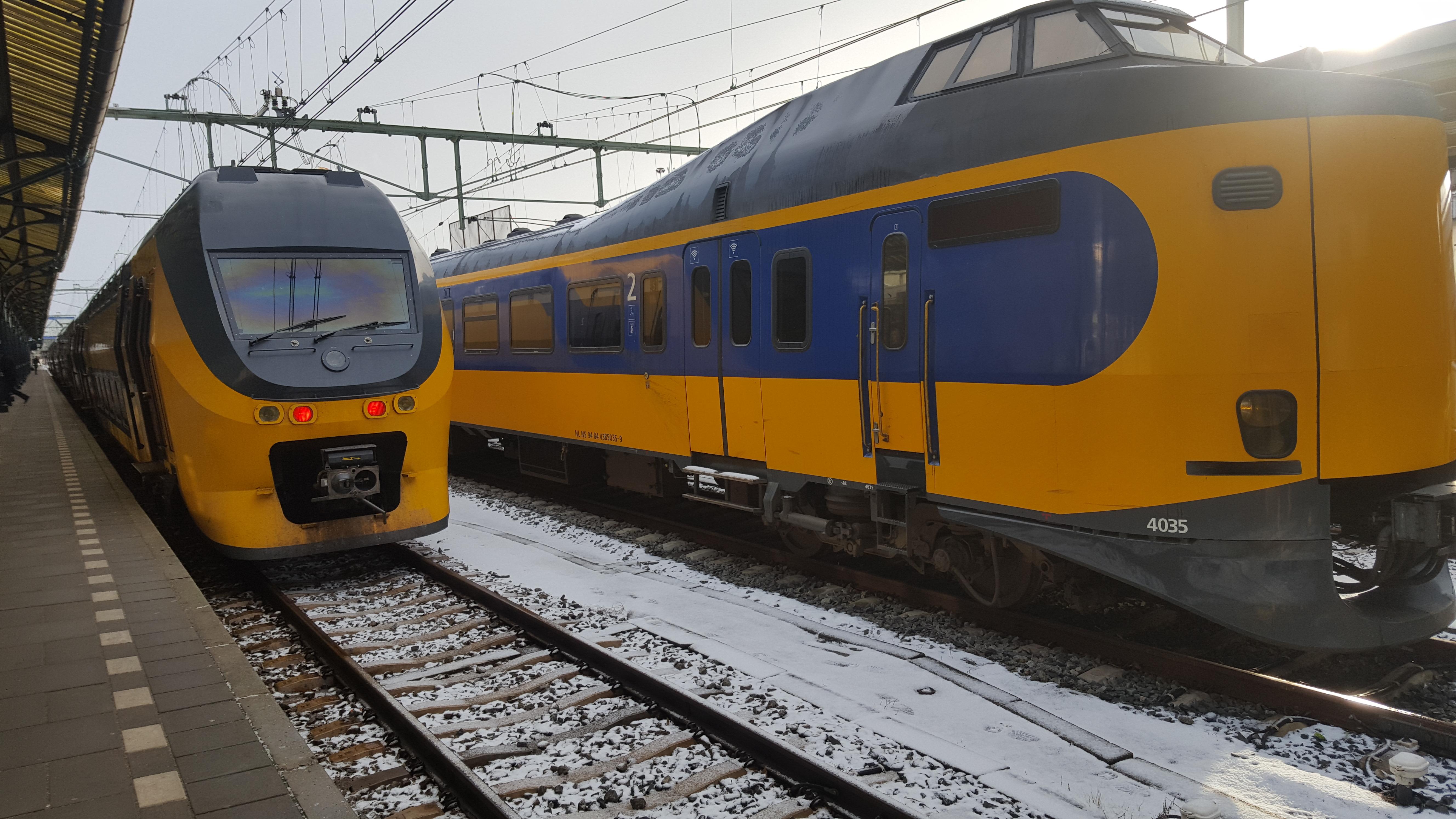 treinreis plannen ns