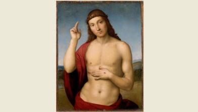 Rafael (1483-1520), Zegende Christus, circa 1505