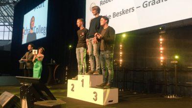 Robert Boerema 2e plaats Skills Heroes.