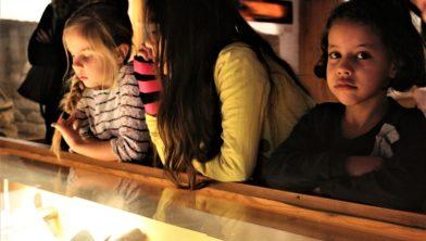 Kinderactiviteit in het Noordelijk Scheepvaartmuseum.