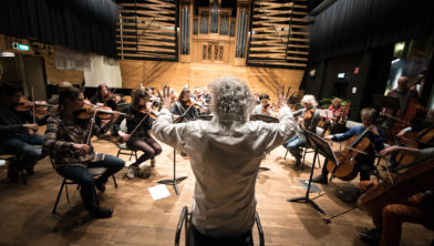 Pop-up symfonieorkest.
