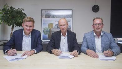 Ondertekening RGS raamcontract vastgoed.