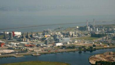 Chemiepark Delfzijl.