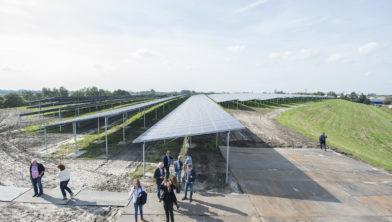 Opening Zonnepark Woldjerspoor