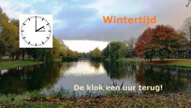 Wintertijd 2018 Groningen