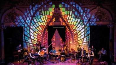 Het Nederlands Blazers Ensemble speelt 'Bach & Soefi'.