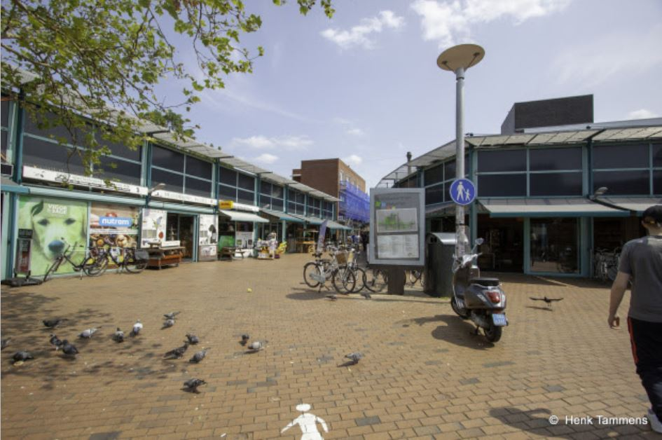 Gratis fiets graveren bij winkelcentrum Helperplein