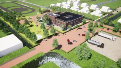 Impressie nieuwe kindcentrum Ten Boer.